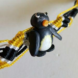 PENGUIN Woven bracelet